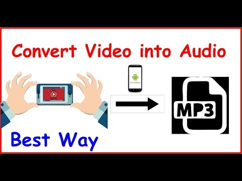 how to convert video to audio in android 2019 | Video to Mp3