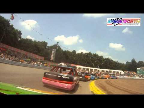 Mick Walker In-Car Lightning Rod