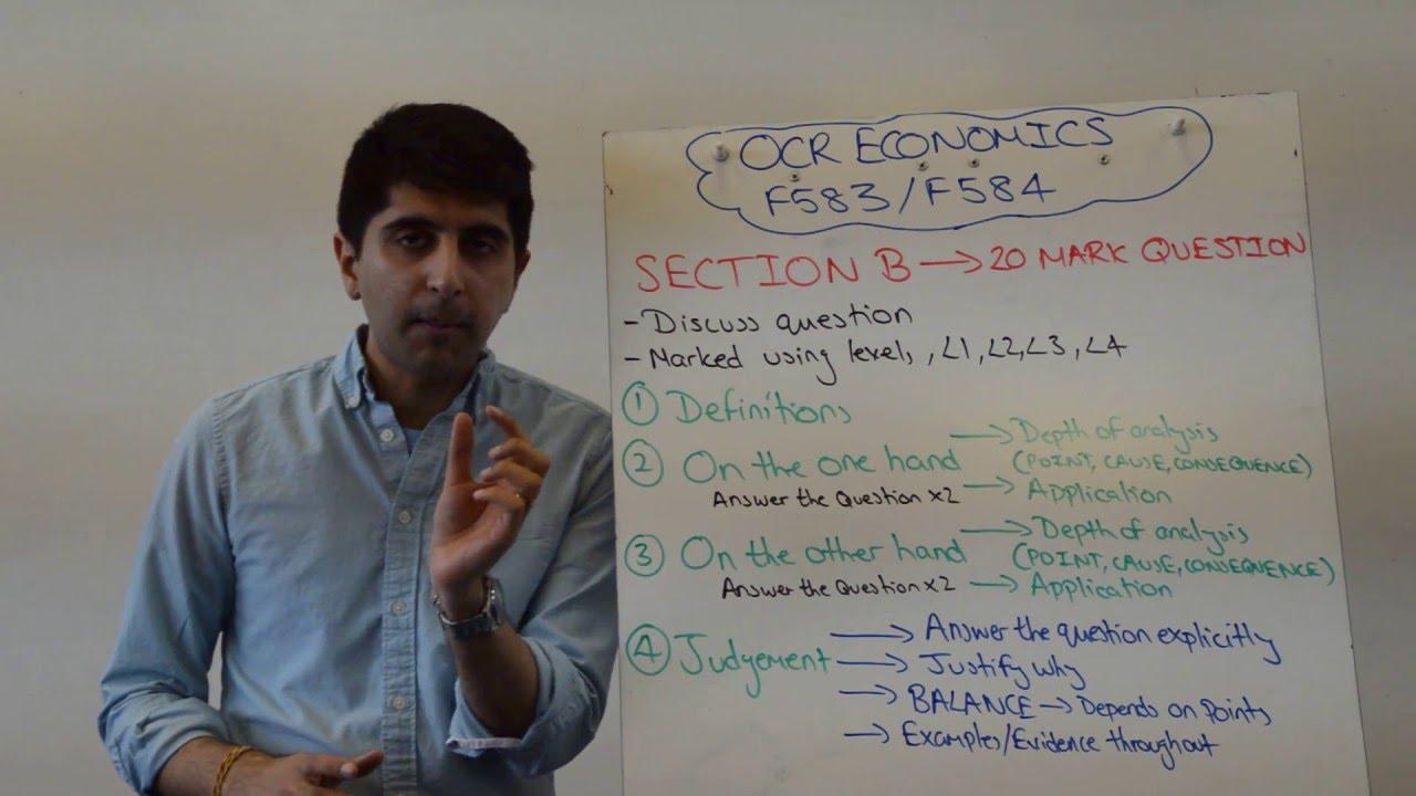 Economics essay questions ib
