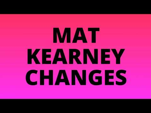 Mat Kearney - Changes (Lyric Video)