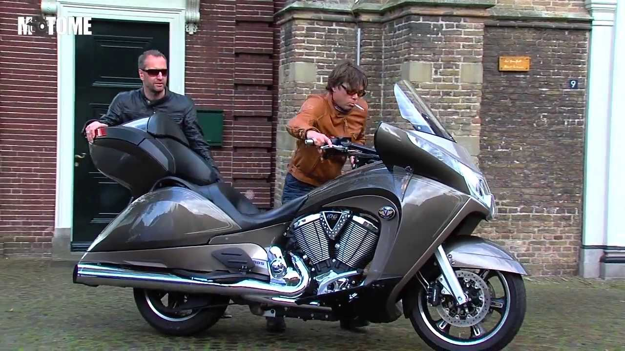 Motor Test Victory Vision Tour En Indian Chief Classic