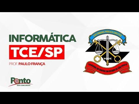 Informática para todos os cargos do TCE/SP - Paulo França