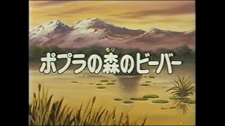 Seton Doubutsuki (Seton Animal Chronicles) Episode 39. A beaver in the Poplar forest (1990 11 10) 시튼 동물기 39화. 포플라 모리의 비버.