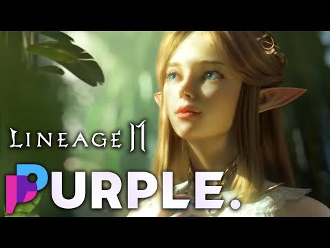 Hands on with PURPLE & Lineage 2M