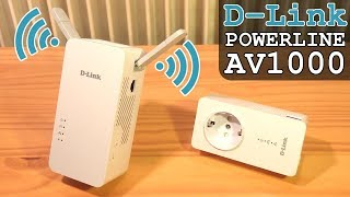 D-Link PowerLine AV1000 Wi-Fi AC • Unboxing | Installation | Configuration