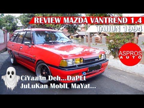 REVIEW MAZDA ESTATE LOKAL : MAZDA VANTREND 1.4 TAHUN 1994 By ASPROS AUTO