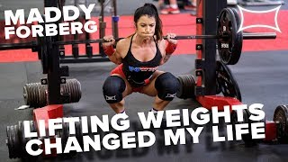 Powerlifting to Overcome My Eating Disorder & Depression | An Interview With Maddy Forberg