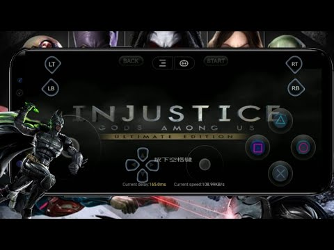 Injustice Gods Among US Ultimate Edition For Android Ll Full Gameplay For PS4 Emulator On Gloud Game