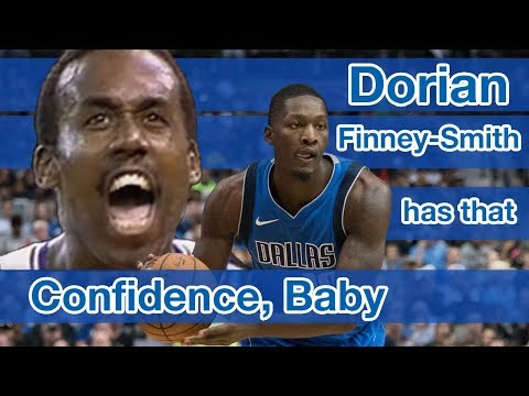 Dorian Finney-Smith is channeling his inner Rolando Blackman