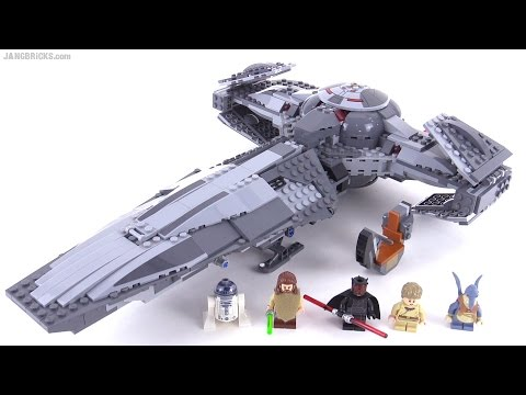 Lego Star Wars 2015 Sith Infiltrator Reviewed Set 75096 Youtube