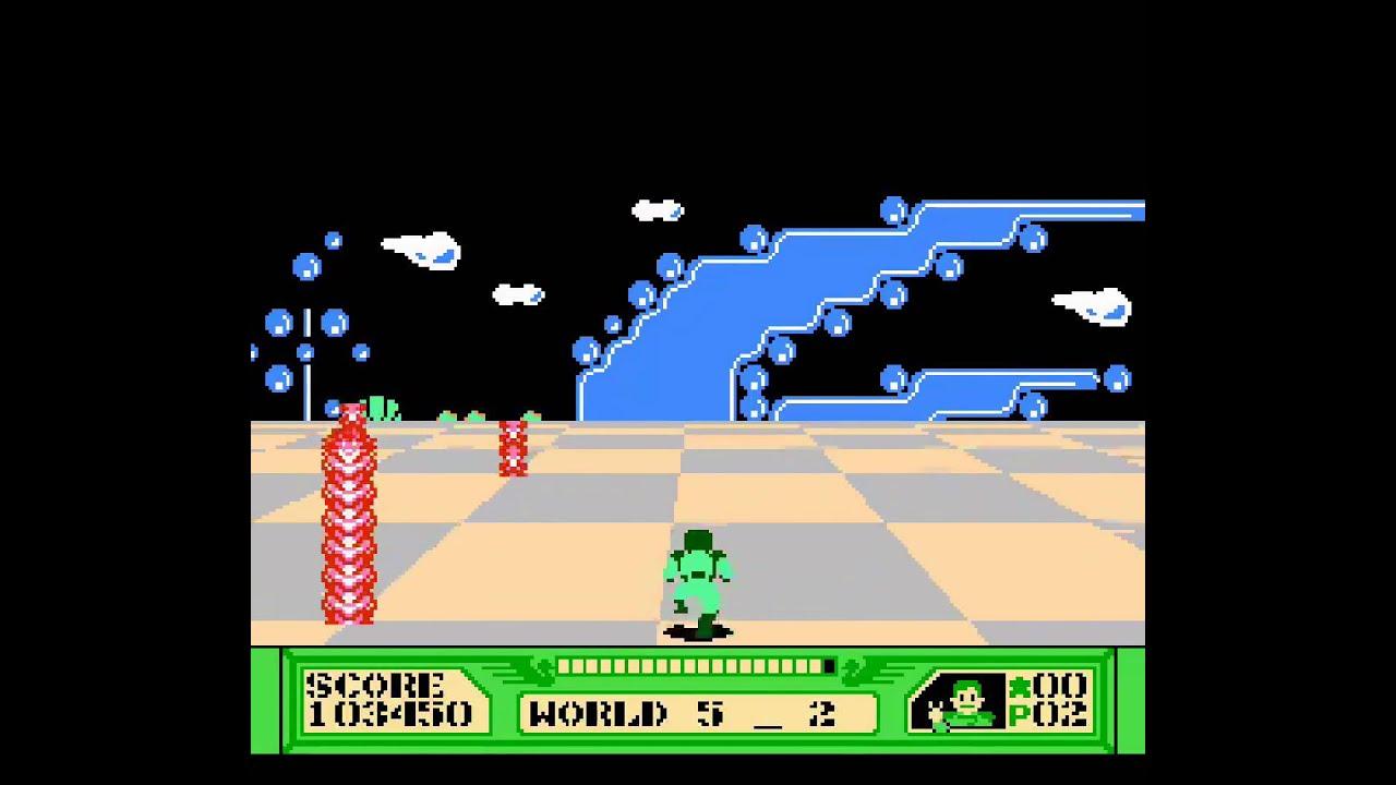 The 3D Battles of WorldRunner — Nintendo Game Walkthrough ...