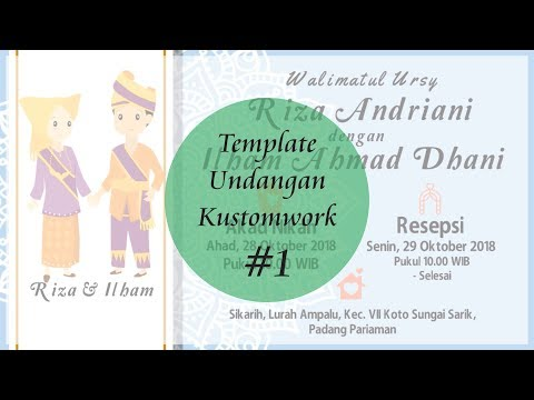 video undangan kustomwork template