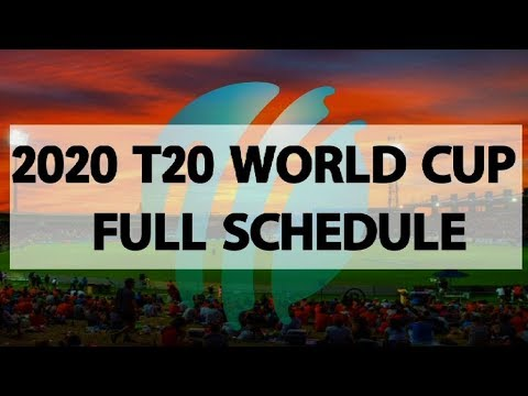 Men's T20 World Cup 2020: No India-Pakistan League Game this time | World T-20 2020 Full Schedule