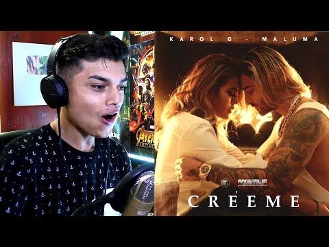 [Reaccion] Karol G, Maluma - Créeme (Maluma Es Culpable) Themaxready