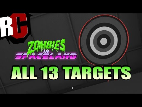 Call of Duty Zombies - All 13 Target Locations for Dischord Wonder Weapon in Spaceland