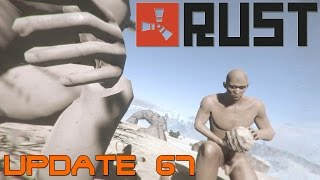 Rust Update 67 - Land Mines - Riot Helmet - Bone Club - Fire
