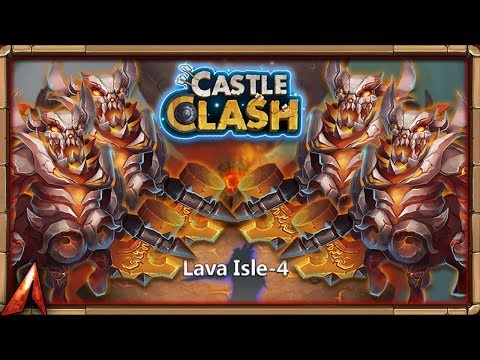 Lava 4 Different Winning Setups! Castle Clash