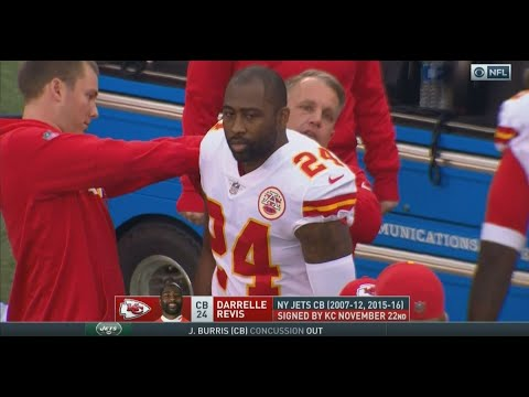 Chiefs troll Jets by naming Darrelle Revis captain in his first game with Kansas City