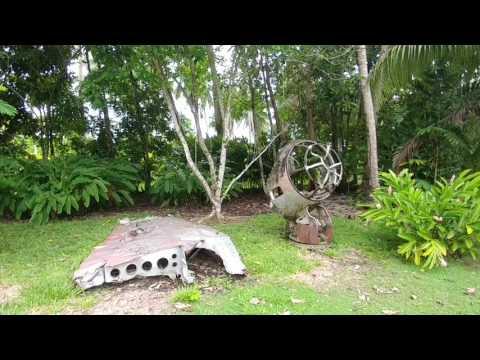 4 Wonder about the Vilu War Museum outside Honiara in the Solomon Islands?