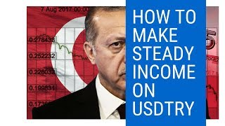 How To Make Steady Income on USDTRY | Make Money Overnight