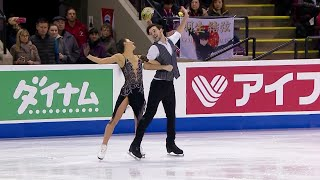 Софья Евдокимова - Егор Базин. Ритм-танец. Танцы. Skate Canada. Гран-при по фигурному катанию
