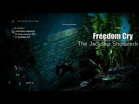 AC4|Freedom Cry: Free Roam - The Jackdaw Shipwreck