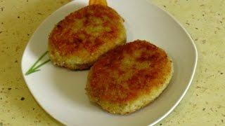Картофельные зразы с грибами / Potato zrazy with mushrooms