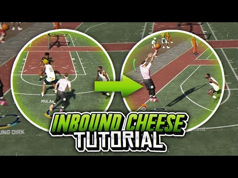 INBOUND CHEESE GLITCH TUTORIAL NBA 2K19! GET OPEN EVERYTIME!