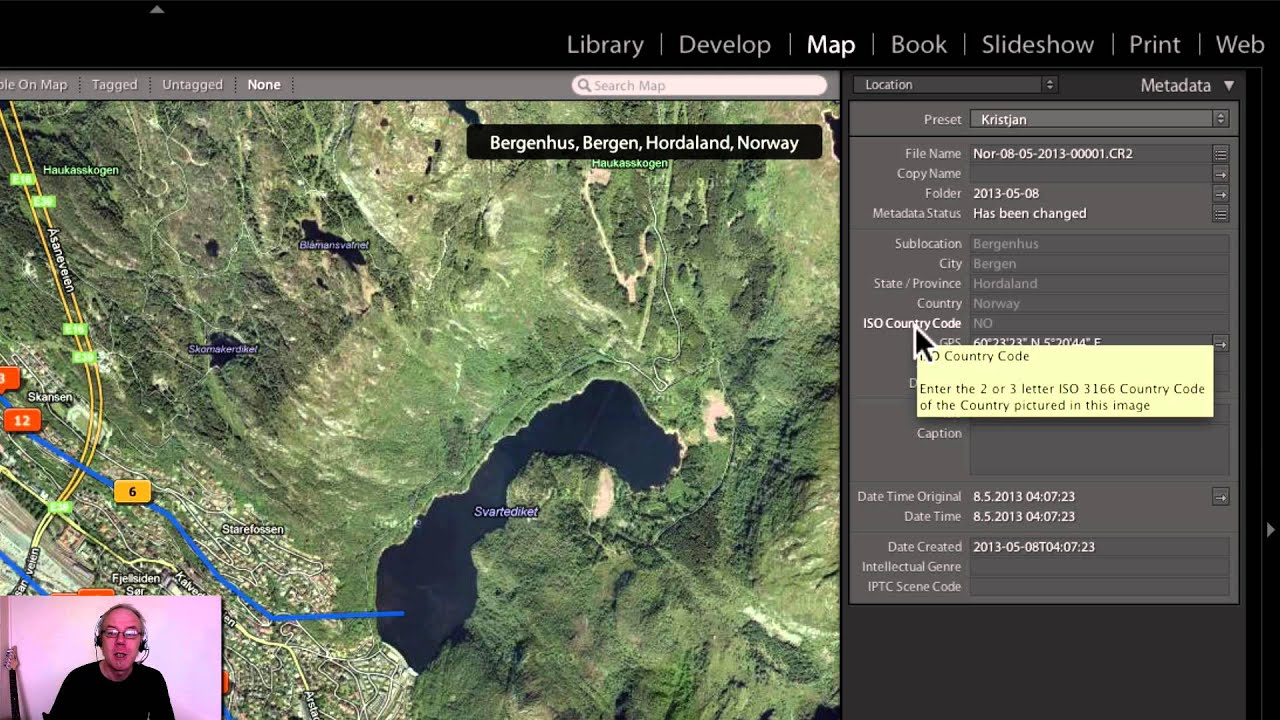 Lightroom Map Module Importing Garmin Gps Tracks YouTube - Norway map for garmin