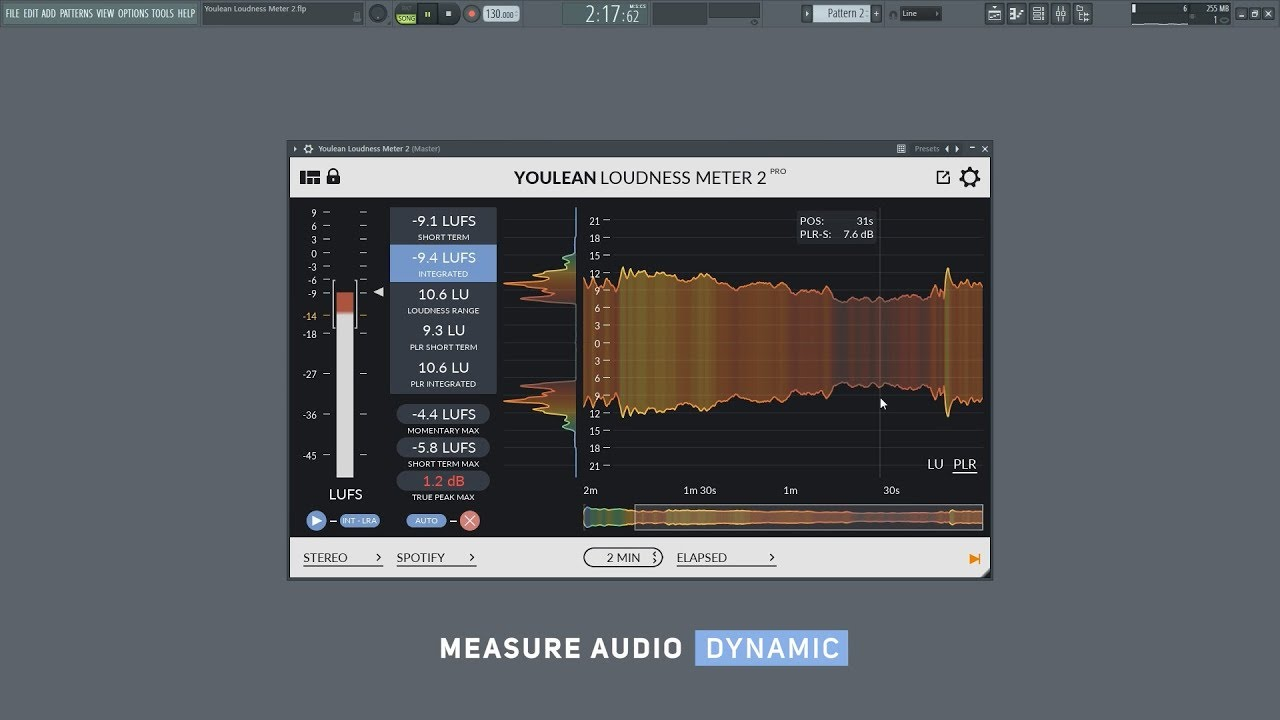 youlean loudness meter not working