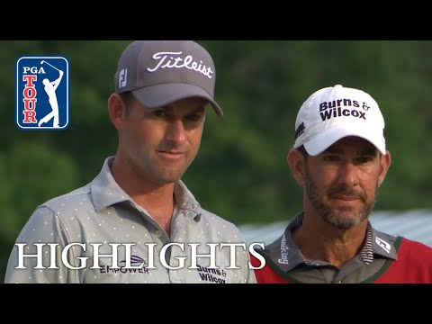 Webb Simpson's Round 1 highlights from The Greenbrier 2018