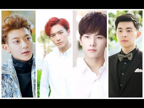 Top 8 Young Hansome Chinese actors
