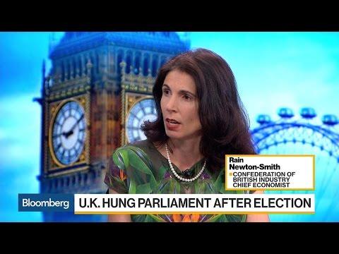 U.K. Business Wants Focus on Economy, Newton-Smith Says