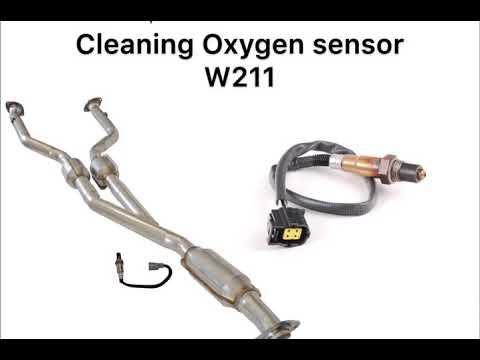 Cleaning Oxygen sensor w211 ||  تنظيف حساس الاكسجين ابو عيون