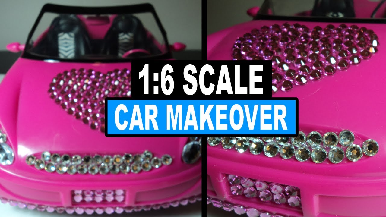 Barbie Doll Car Makeover Doll Crafts Youtube