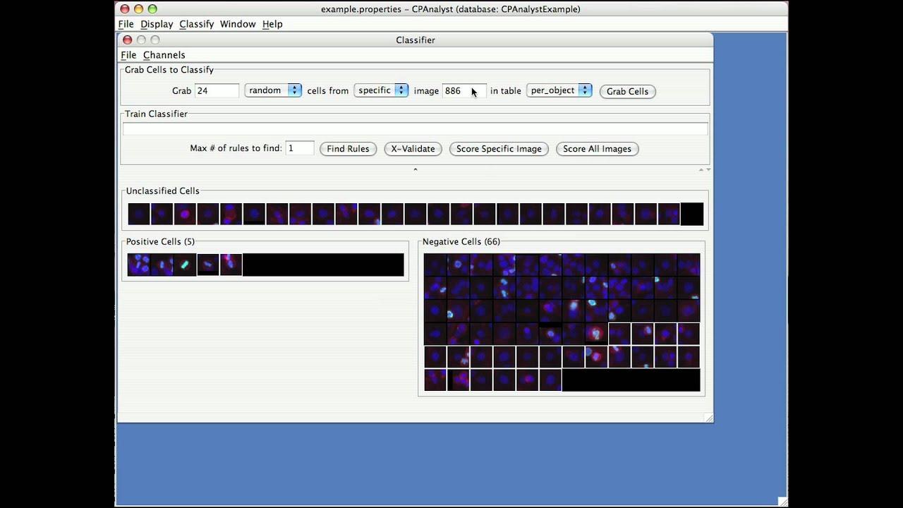 Cellprofiler analyst