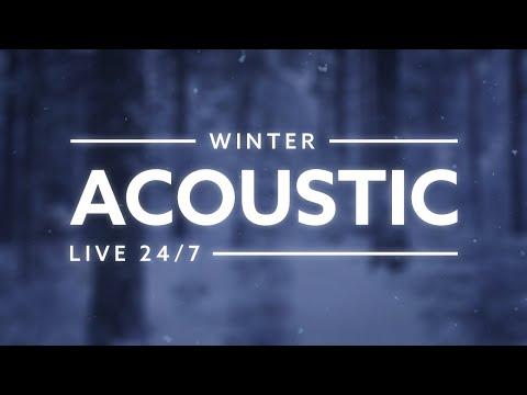 Acoustic Winter Pop 🎶🔴❄︎ 24/7 Acoustic Pop Live Radio 🎶