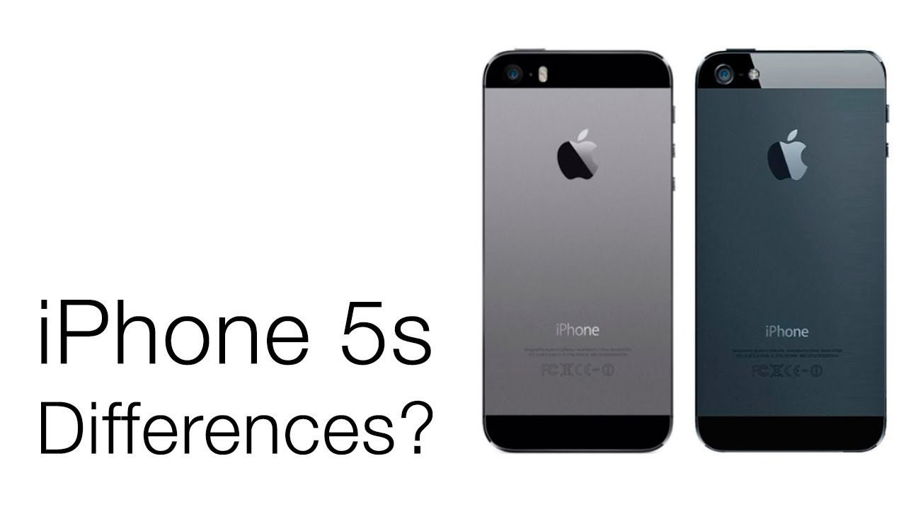 what is the difference between iphone 5s and 5c iphone 5s versus iphone 5 external design differences 21457