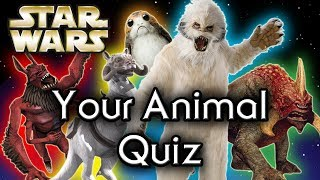 Find out YOUR Star Wars ANIMAL Companion! - Star Wars Quiz