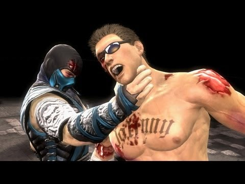 Mortal Kombat Komplete PC SubZero & Kitana Ladder Playthrough
