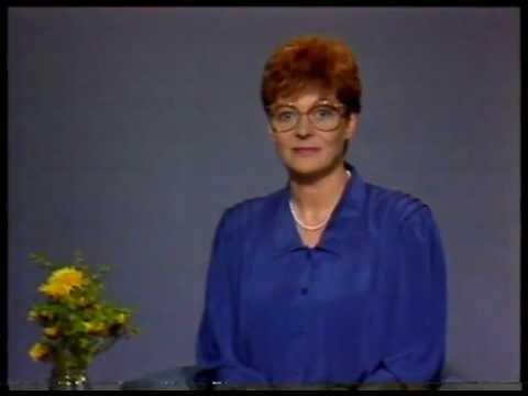 TV1 tunnus ja kuulutus 18.5.1986