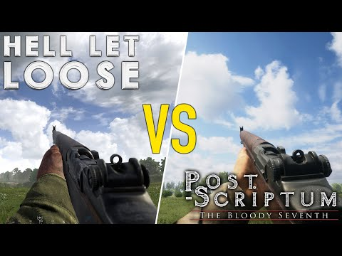 HELL LET LOOSE Vs POST SCRIPTUM | Which Is Better? (Honest Review)