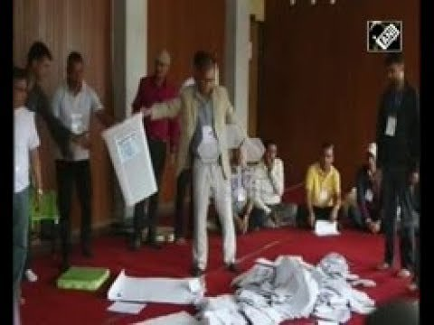 Nepal News (Dec 13, 2017) - CPN UML party leads as first past the post vote count concludes in Nepal