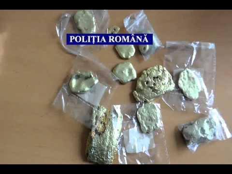 Perchezitii exploatare ilegala aur Rosia Montana