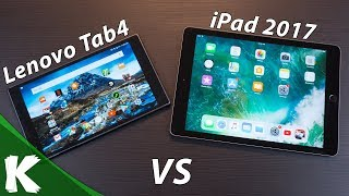 Lenovo Tab4 8 Plus vs iPad 2017 | How Do They Stack Up? | Android vs Apple IOS