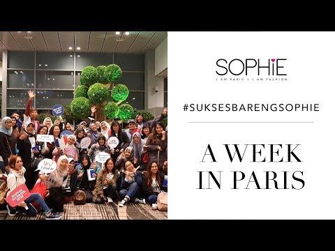 A Week in PARIS - Sophie Reward 2018