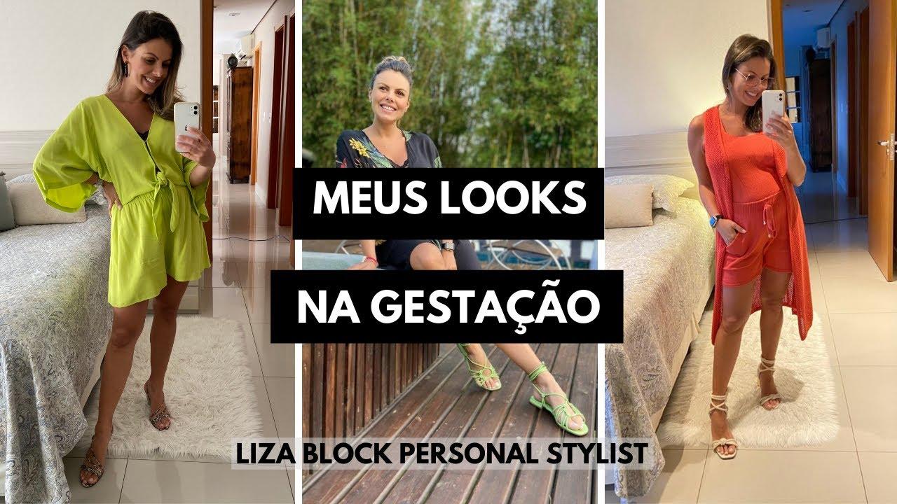 Looks de Gestante: Meus Looks! I Liza Block