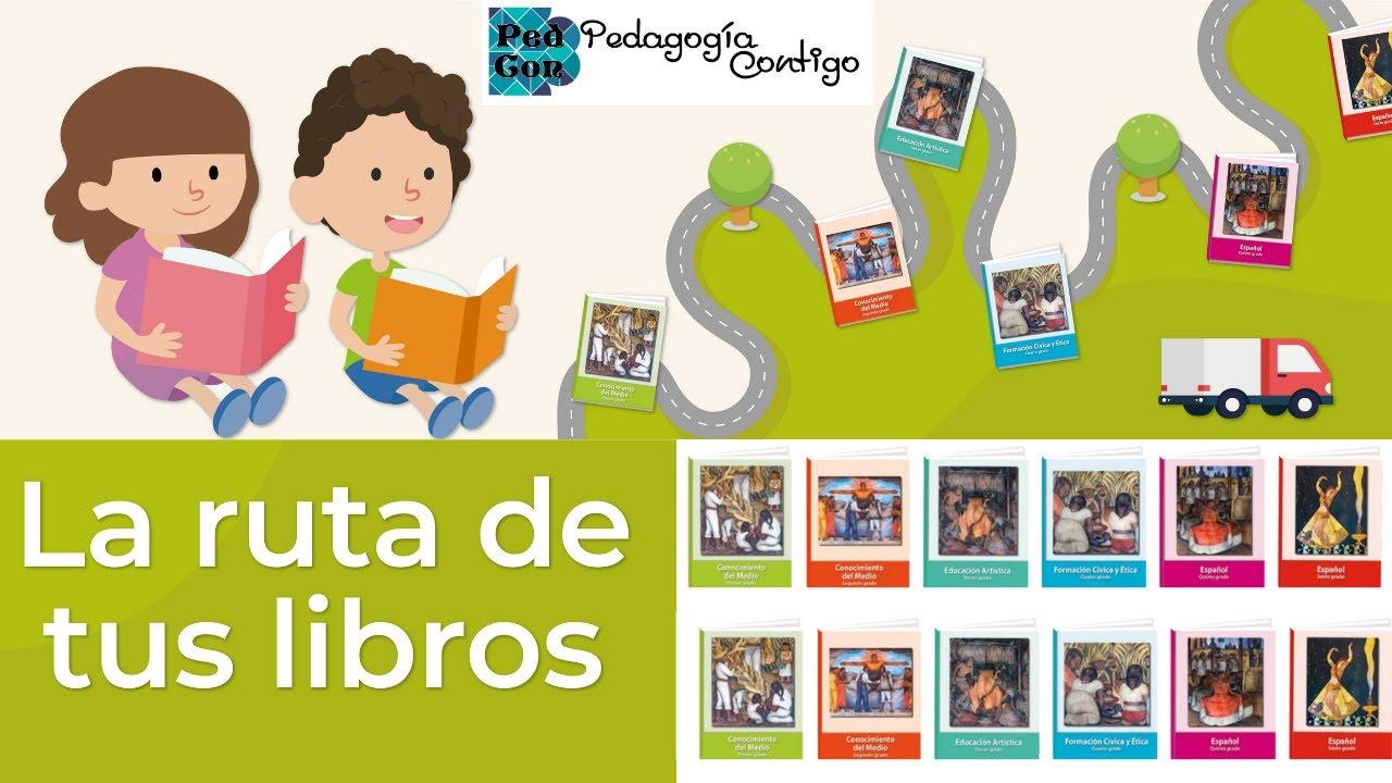 La RUTA de TUS LIBROS DE TEXTO GRATUITO en México 2020  SEP   Pedagogía Contigo