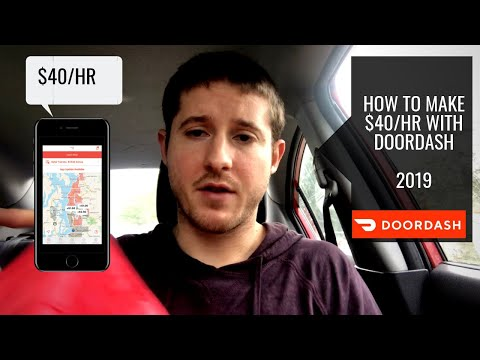 How To Make $40 Hr Driving For DoorDash