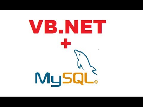 MySQL VB NET Tutorial 1 : Getting Started and Mysql database Connection